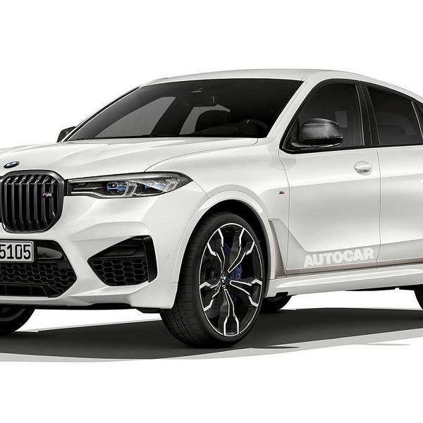 Wizja BMW X8 M autorstwa dziennikarzy 'AutoCAR'
