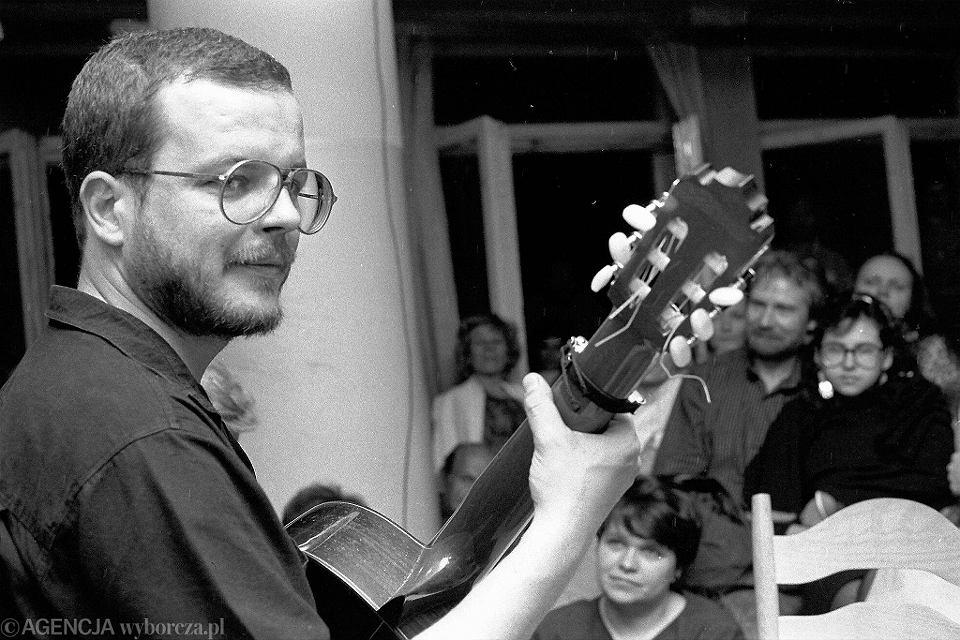 Jacek Kaczmarski w 1990 roku