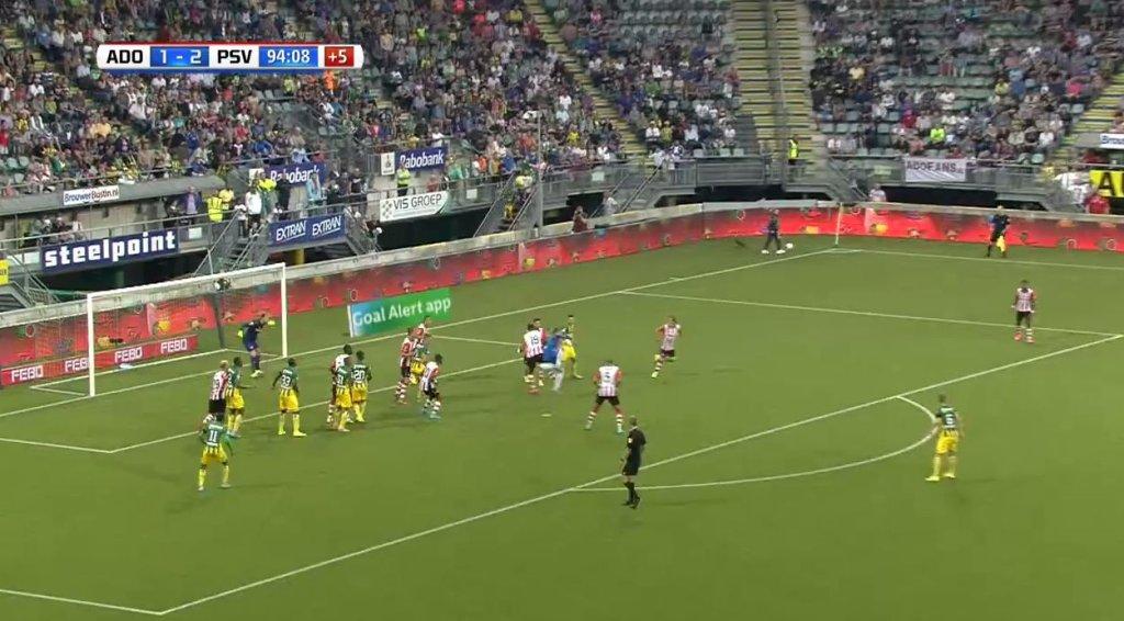 Martin hansen z golem sezonu w Eredivisie
