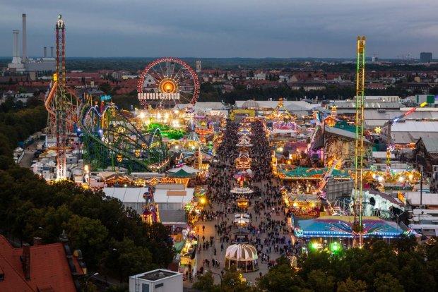 Monachium. Oktoberfest