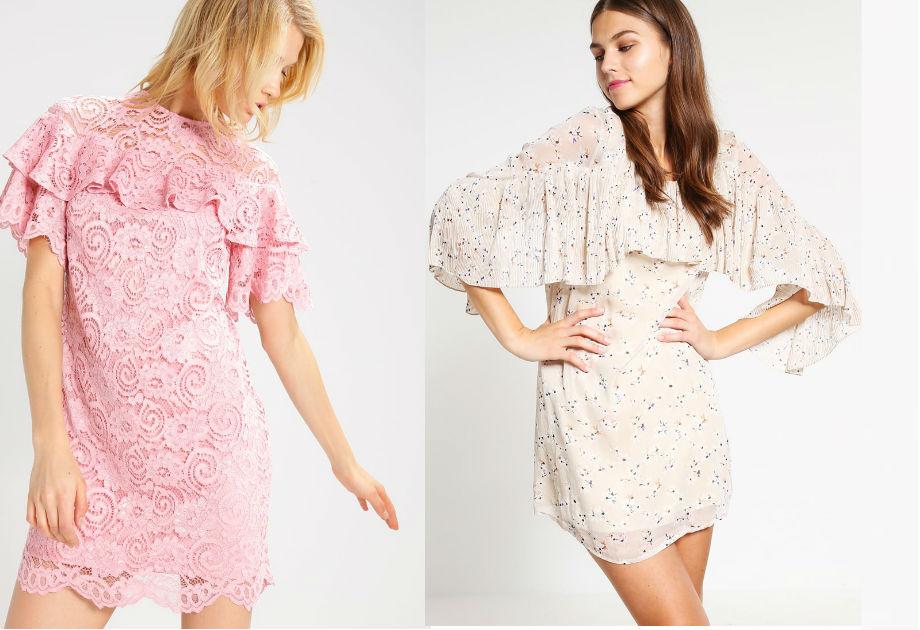 Sukienki z falbanami