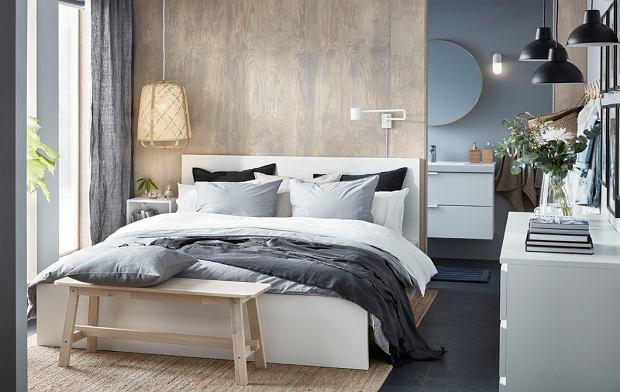 Lampa do sypialni, która daje subtelne, rozproszone światło