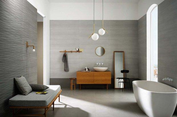 Najmodniejsza łazienka w odcieniach szarości