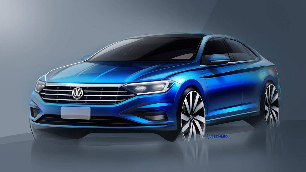 Nowy Volkswagen Jetta (teaser)