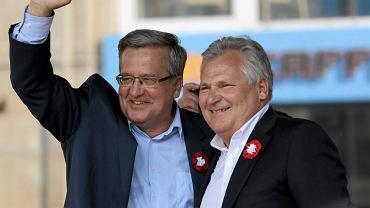 Bronisław Komorowski i Aleksander Kwaśniewski