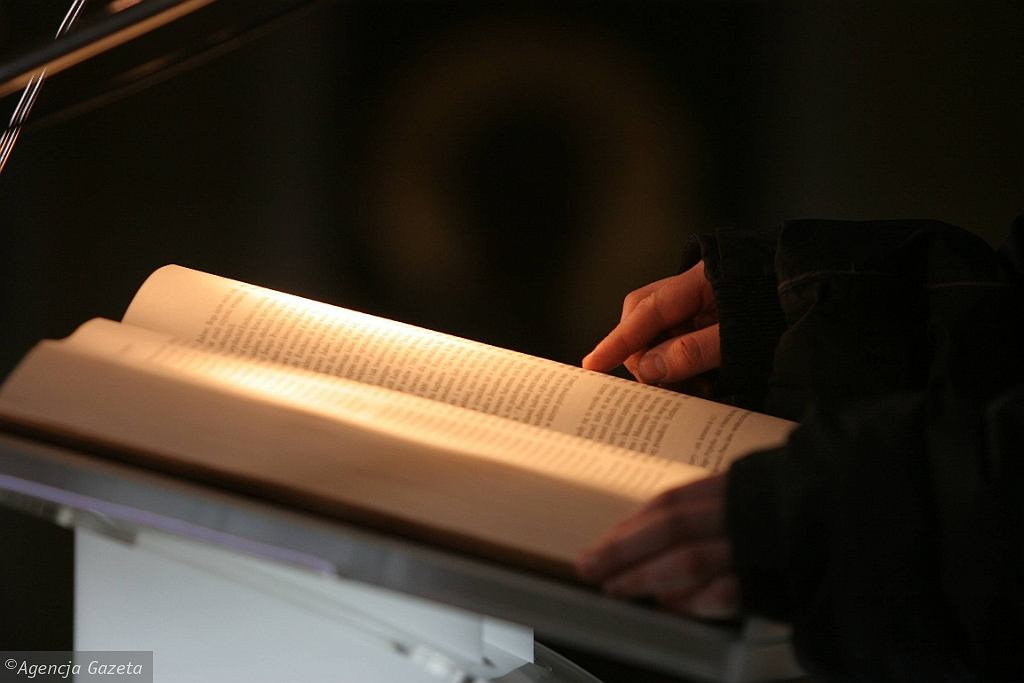 Pismo Święte (fot. Karolina Sikorska/AG)
