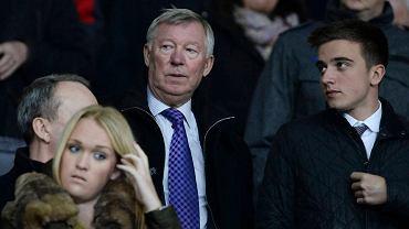 Alex Ferguson ogląda mecz United z Sunderlandem