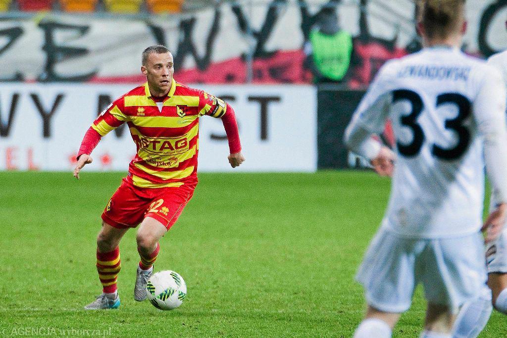 Jagiellonia Białystok - Pogoń Szczecin 0:0. Rafał Grzyb