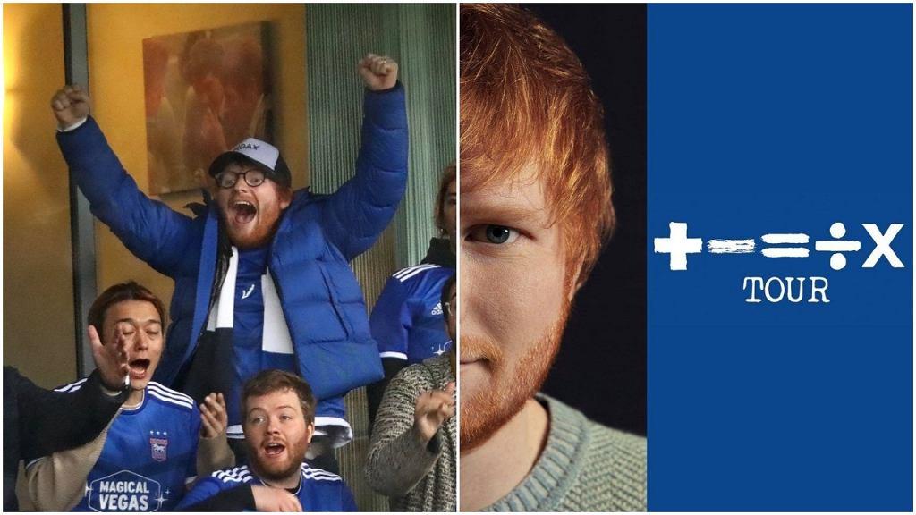 Ed Sheeran został sponsorem Ipswich Town