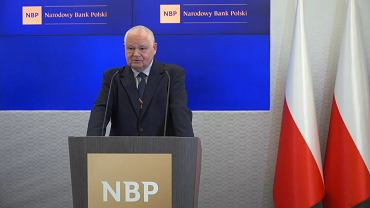 Adam Glapińsi, prezes NBP