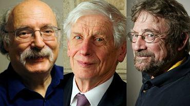 Duncan Haldane, David Thouless i Michael Kosterlitz. Laureaci Nagrody Nobla z fizyki 2016