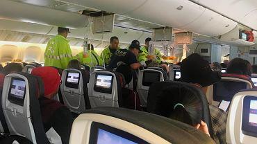 Groza na pokładzie Air Canada, samolot zaczął nagle spadać