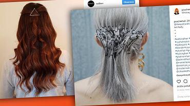 Kluczem do wykonania niebanalnej fryzury są... wsuwki!