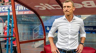 Trener Lecha Poznań Dariusz Żuraw