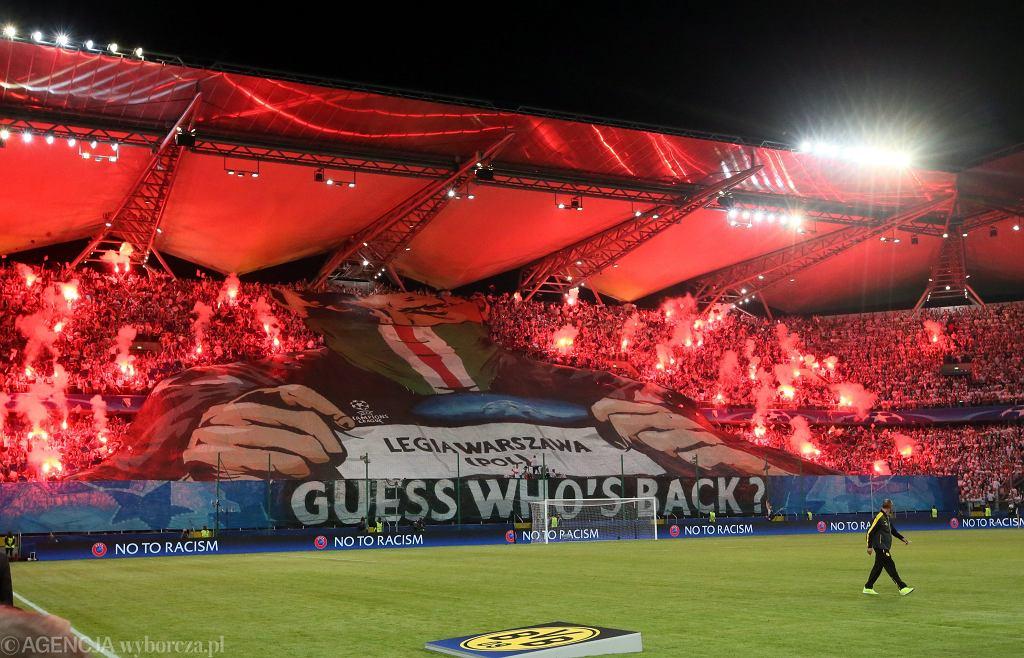 Stadion Legii, mecz Legia Warszawa-Borussia Dortmund. 14.09.2016 r.