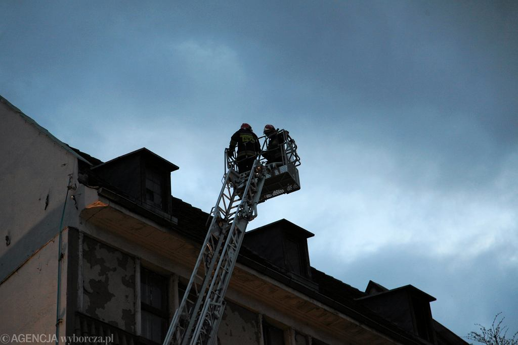 Interwencja strażaków [zdjęcie ilustracyjne]