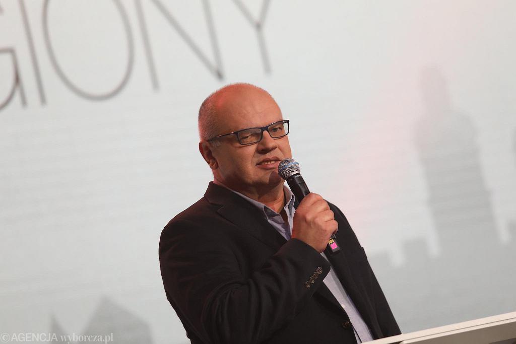 Jerzy B. Wójcik, wicenaczelny 'Wyborczej' na Gali Supermiasta