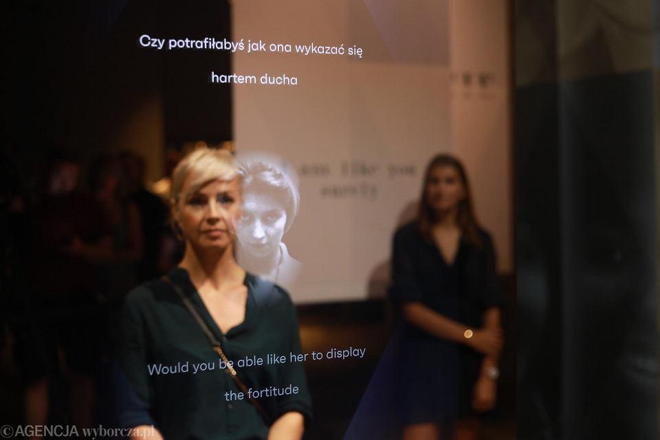 Wystawa 'Odbicie. Jestem jak ty zapewne' w Muzeum Powstania Warszawskiego