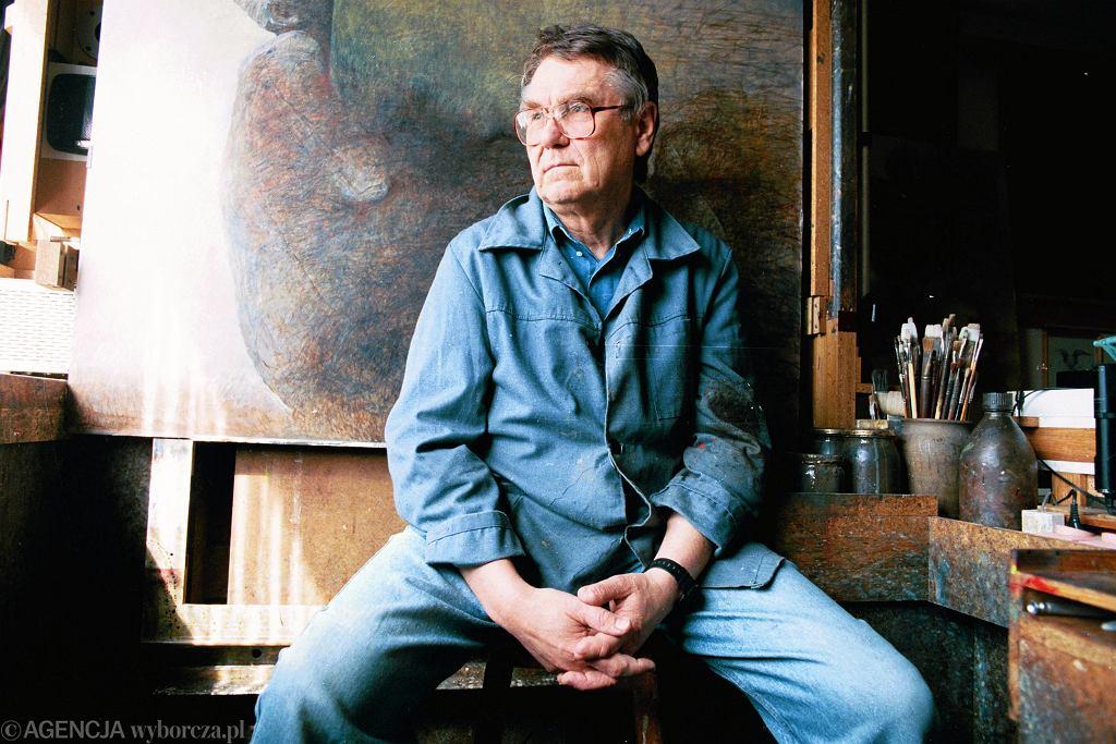 Zdzisław Beksiński, Warszawa, 1996
