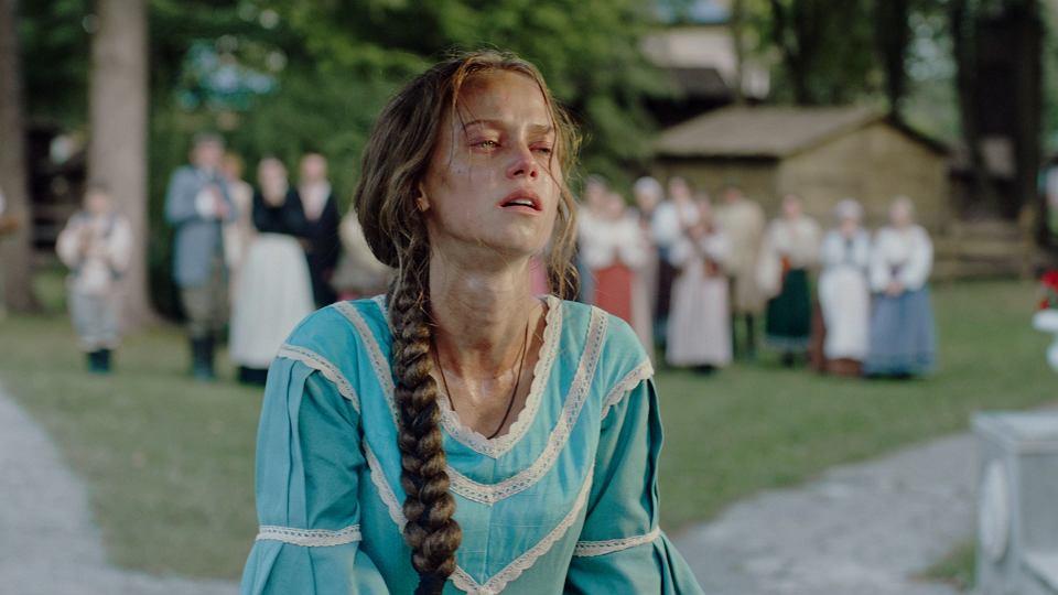 Katerina Kowalczuk jako chłopka pańszczyźniania Katierina w serialu 'Zniewolona'