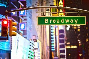Nowy Jork. Na Broadwayu