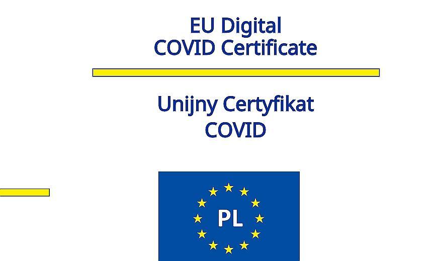 Koronawirus. Nowy kod QR z identyfikatorem - Unijny Certyfikat Covid