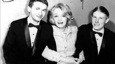 Marlena Dietrich z duetem Marek i Wacek