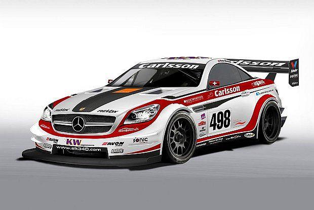 Carlsson pokaże w Genewie również model SLK przygotowany do wyścigów górskich