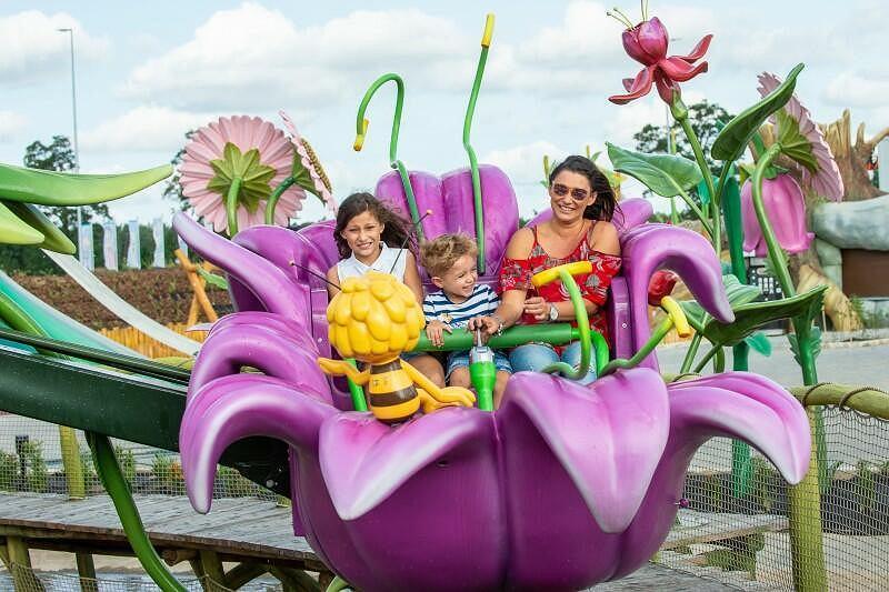 W parku rozrywki Majaland czekać będzie wiele atrakcji