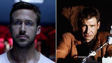 """Ryan Gosling w """"Tylko Bóg wybacza"""" i Harrison Ford w """"Łowcy androidów"""" z 1982 roku"""