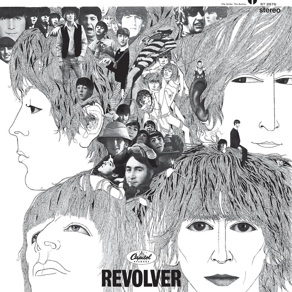 Okładka The Beatles - Revolver