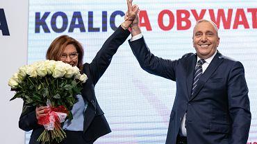 Start kampanii Koalicji Obywatelskiej. Na zdjęciu: Grzegorz Schetyna i Małgorzata Kidawa-Błońska