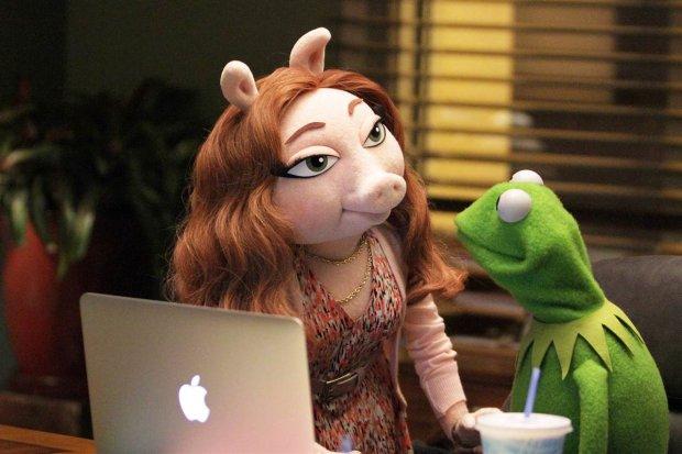 Denise i Żaba Kermit