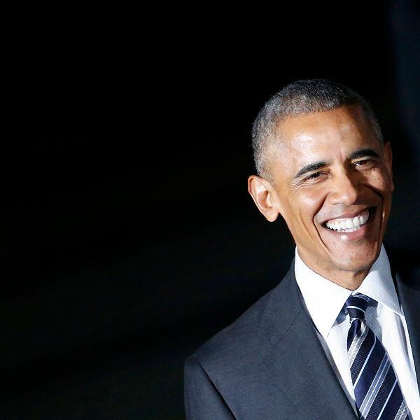 Barack Obama - ustępujący prezydent USA - odwiedził Europę