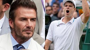 David Beckham, Hubert Hurkacz