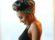Omenaa Mensah pokazała ciążowy brzuszek. Okazją były urodziny syna