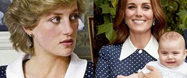Tą sukienką księżna Kate ponownie oddała hołd Dianie. To mogło nie spodobać się Karolowi