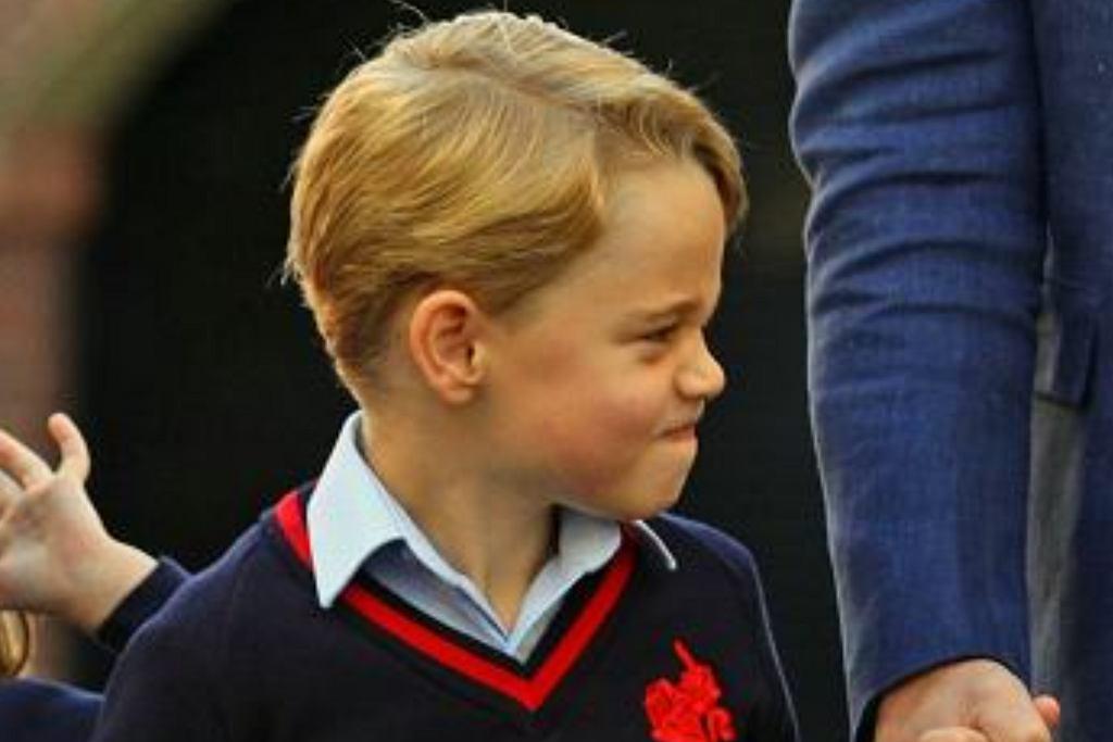 Książę George po urodzinach zerwie z królewską tradycją