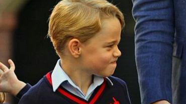 Książę George co roku otrzymuje na urodziny nietypowe prezenty od swojej matki chrzestnej. To pomysł księżnej Diany