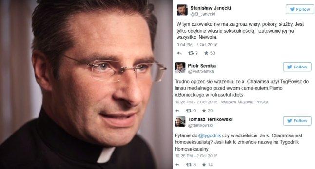 Ks. Krzysztof Charamsa i komentarze publicystów