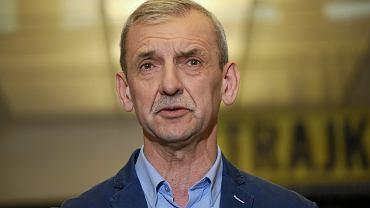 %Konferencja Slawomira Broniarza w ZNP