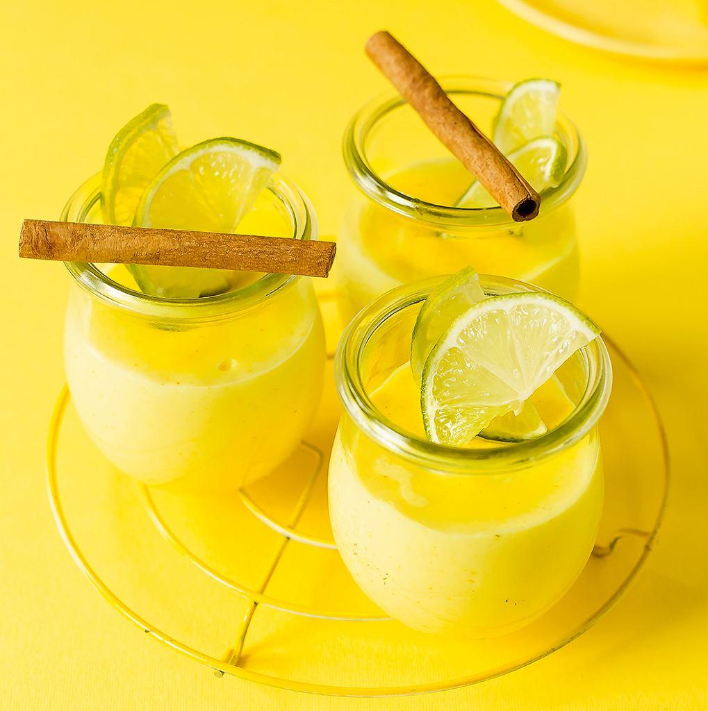 Pudding kukurydziany z mlekiem kokosowym