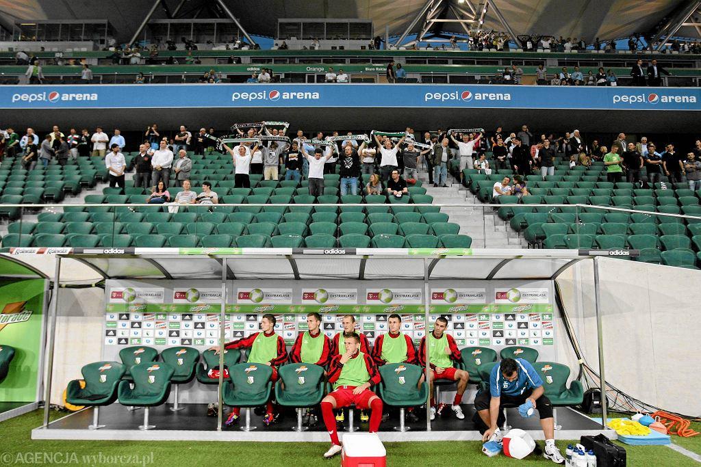 Stadion Legii w 2011 r.