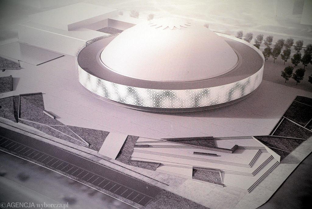 Wizualizacja nowej hali Urania w Olsztynie