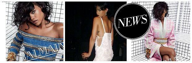 Rihanna dla Balmain