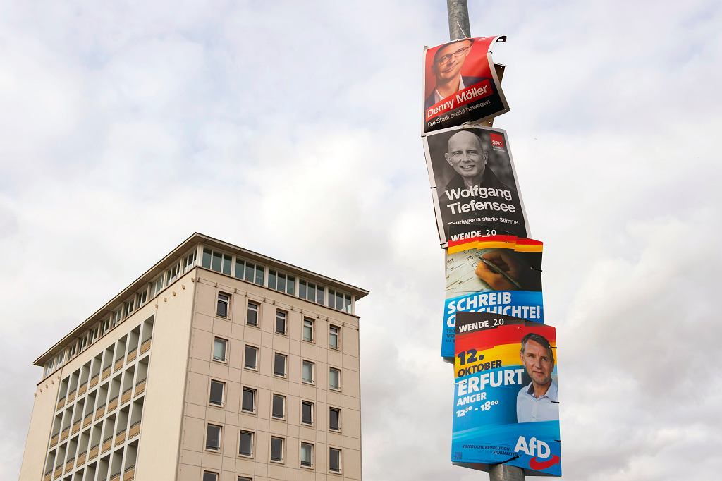 Wybory w niemieckiej Turyngii
