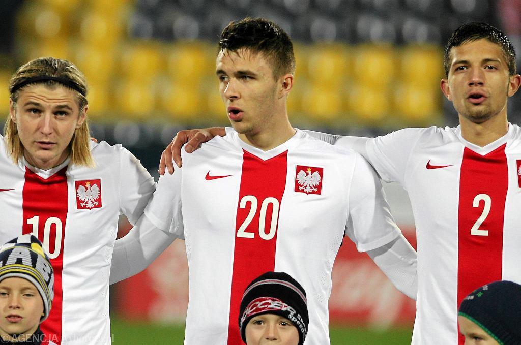 Dariusz Formella w stroju reprezentacji Polski