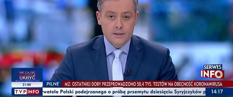 """Prowadzący TVP Info na antenie o wyroku TK. """"Ja nie rozumiem..."""""""