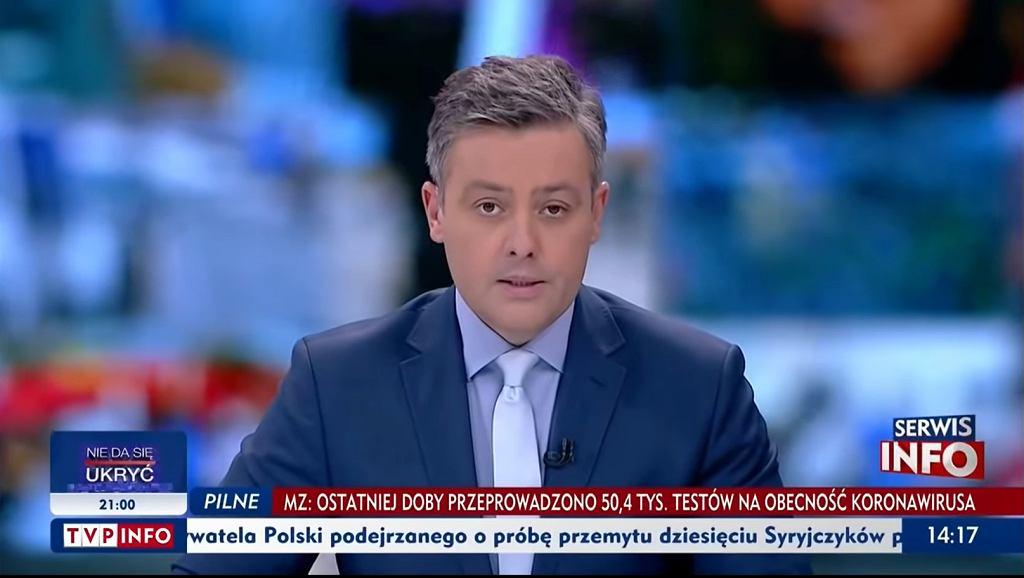 Dziennikarz Michał Cholewiński