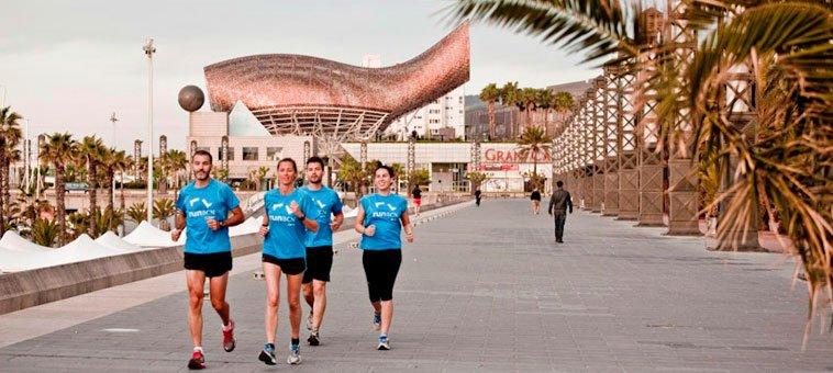 Barcelona - raj dla biegaczy!